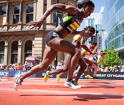 World class athletics takes to the streets