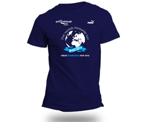 Exclusive finisher's t-shirt