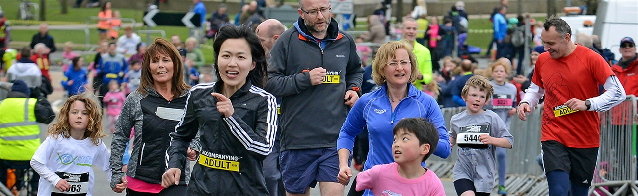 Great Aberdeen Run Family Mile 1