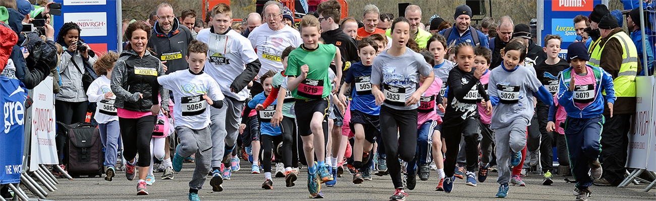 Great Aberdeen Run Family Mile 2