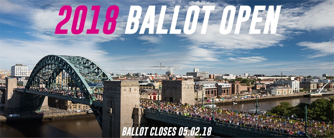New: Great North Run - General Ballot 2018