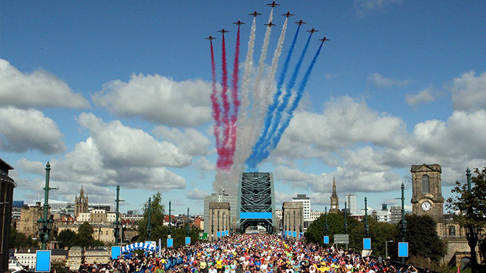 Great North Run, Red Arrows