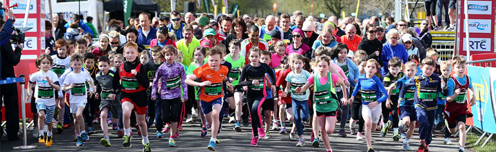Junior and Mini Garmin Great Ireland Run