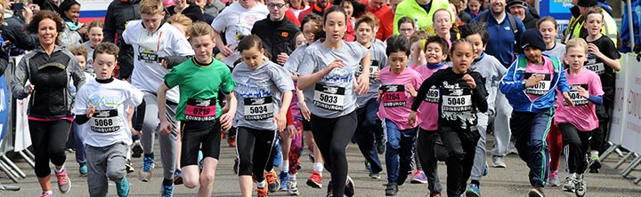 Simplyhealth Great Edinburgh Family Run & Toddler Dash