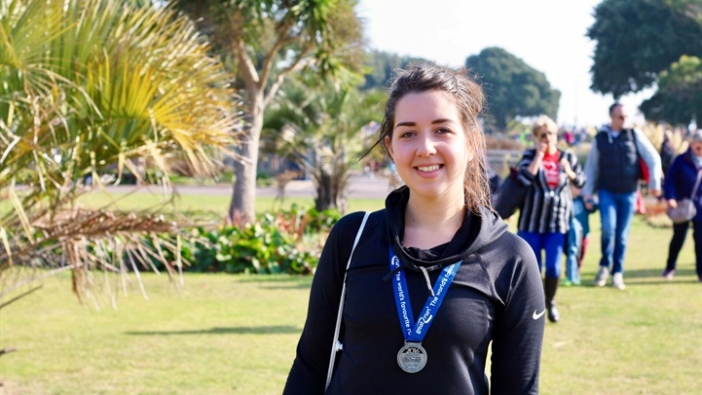 Louisa Takes On South Run To Improve Mental Health