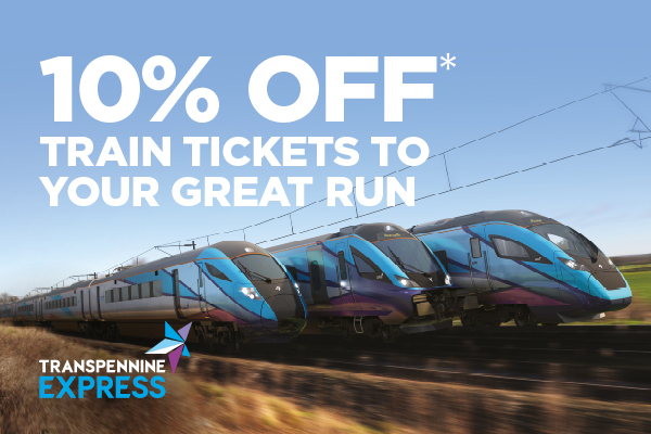 10% off travel to your Great Run