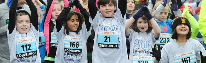 Simplyhealth Junior Great Edinburgh Winter Run
